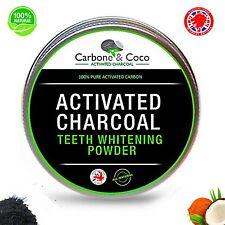 DIENTES De Carbono Carbón Activado Quitamanchas Polvo