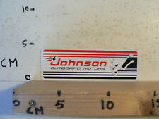STICKER,DECAL JOHNSON OUTBOARD MOTORS WATERSKI BOOT BOAT DIVING A