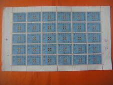 Bloc timbres 1963 EUROPA 30 x 6f