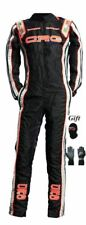 CRG 2015 Black Go Kart Race Suit CIK FIA Level 2 with free Gloves & balaclava