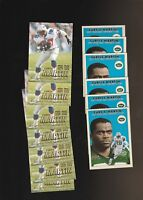 Curtis Martin Football 13 Card Lot New York Jets