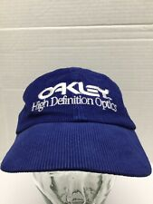 Vtg Oakley High Definition Optics Sunglasses Hat