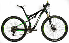 "19"" L STRADALLI 29ER GREEN CARBON FIBER DUAL SUSPENSION TRAIL MTB BIKE XTR 9000"