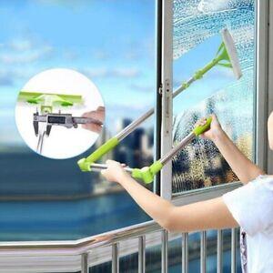 Telescopic High-rise Cleaning Glass Sponge Mop Multi Window Cleaner Brush