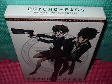 PSYCHO-PASS - 1 TEMPORADA -  PARTE 1 - ANIME - 3 dvds - NUEVA