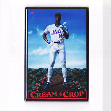 DARRYL STRAWBERRY / CREAM OF THE CROP - POSTER MAGNET (nike costacos mets 1986)