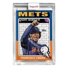 W/box Project 70 Card 160 - 1975 Francisco Lindor by Jeff Staple