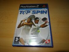 Top Spin - PlayStation 2 PS2 - New & Sealed pal version