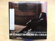 Que Precio Tiene El Cielo by Marc Anthony (2006 CD) PROMO ***