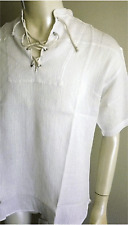 BNWT Pirate shirt,white color,s/s..Size 4XL