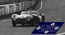 Decals Aston Martin DBR1 Le Mans 1961 1:32 1:24 1:43 1:18 slot calcas