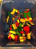 X-Large Job Lot Of Lego Duplo Bricks 200-300 Pieces Inc Cars, Duplo animals