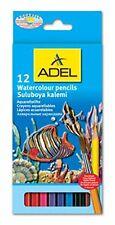 346001 - 12 Aquarellstifte - Watercolour pencils - Orginal ADEL