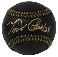 Miguel Cabrera Detroit Tigers Signed Black MLB Baseball w/ Free Ball Cube JSA