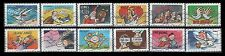 France 4701-4712 Greeting Booklet Stamps(12 USED Stamps Issued 2014)