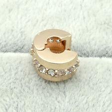 1pcs gold buckle European Charm Beads Fit Necklace Bracelet Pendant Chain 25