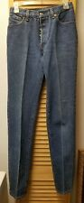 Levis 26501-0159 Button Fly Vintage Denim Jeans 28x34 5 Pocket Made USA Size 11