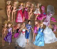 Huge Joblot Barbie & Ken Doll Figures With Clothing etc