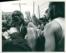 Crowd in the Street Hold Onto Rope Original Ross Welser Photo