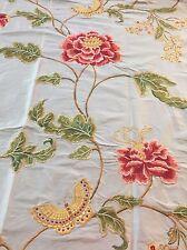 REMNANT Off Cut Colefax & Folwer Fabric Curtain Blinds 64x110cm Silk