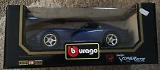 "1996 Dodge Viper GTS Coupe Blue 1/18"" Scale COD.3030 by Burago (JVE:208)"