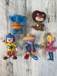 Lot Of 5 Disney Jojos Circus Animated Kids Show Figures
