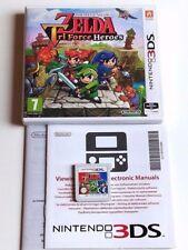 The Legend of Zelda: Tri Force Heroes - Nintendo 3DS, 2DS - KOMPLETT mit OVP