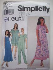 Women's Maternity dress top jumper pants shorts unused 8589 size  12 14 16