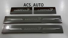 MAZDA 3 2014 2015 2016 2017  SCUFF PLATE BOTH HATCH and SEDAN SCUFFPLATE