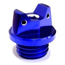 MotoSculpt Oil Fill Cap Plug for Yamaha YZ80 YZ85 YZ125 YZ250 XT225 - BLUE