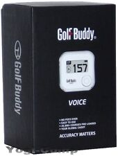 GolfBuddy Voice Gps Range Finder Golf Buddy w/ Auto Course + Hole Recognition