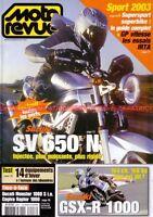 MOTO REVUE 3557 SUZUKI GSX-R 1000 SV 650 DUCATI TRIUMPH 900 TT KAWASAKI 250 KT