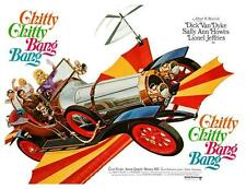 Chitty Chitty Bang Bang  *LARGE POSTER*  Dick Van Dyke Roald Dahl Ian Fleming