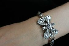 NWT KATE SPADE RARE ELECTRIC GARDENS BRACELET WEDDING CRYSTAL SPARKLE BRIDAL