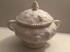 Ceramic Grapevine Soup Tureen Bowl Serving Piece By Arnart Traditional Americana