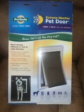 PetSafe Extreme Weather Energy Efficient Pet Door For Cats Large 1-100 Pounds