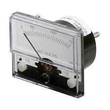 "PANELTRONICS AC VOLTMETER 1 1/2"" 0-300VAC ANALOG"