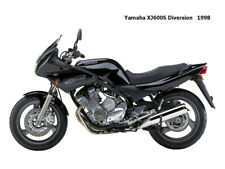 Motorcycle Canvas Picture Yamaha XJ600S Diversion 1998 Canvas 16x12 inch