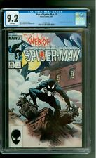 Web of Spider-Man 1 CGC 9.2 NM- 1st appearance of Vulturions Charles Vess cover