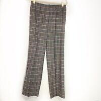 Piazza Sempione Size 44 US 8 Sophia Dress Pants Saks Wool Women Career Work
