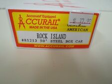 Accurail Rock Island 50ft Steel Boxcar ( General American )