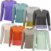 Ladies Ex Old Navy Round Neck Full Sleeve Smart Fit Light Winter Jumper Tops