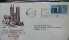 900th Anniversary of the Foundation of Westminster Abbey 1066-1966 F D C  28th f