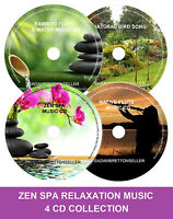 Zen Spa Music Collection Relaxation Meditation Deep Sleep Salon Stress 4 CD