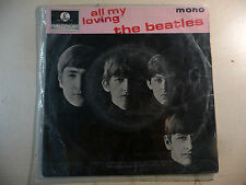 "THE BEATLES EP ""ALL MY LOVING/ ASK ME WHY/ MONEY..."" SOLO COPERTINA NO 45 GIRI"