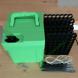 Plastic Box case for 48V 20Ah electric bicycle ebike escooter UPS Battery