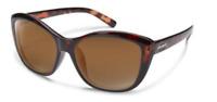 SUNCLOUD Skyline Women's Polarized Sunglasses TORTOISE FRAME Brown lenses $49.95