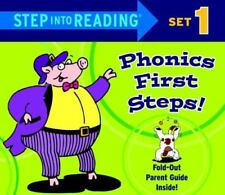 Step into Reading Phonics First Steps, Set 1 Phonics Boxed Sets