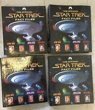 More details for star trek fact files x 15 binders