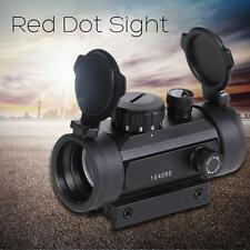 Neu 1x40 Red Green Dot Sight Leuchtpunktvisier Für Gewehr Picatinny Schiene